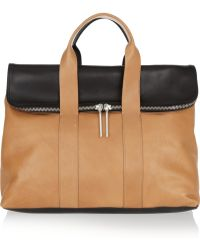 3.1 Phillip Lim 31 Hour Twotone Leather Tote - Lyst