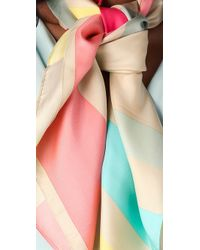 Alice + Olivia - Multi Striped Scarf - Lyst