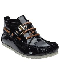 Pierre Hardy - Patent High Top Loafer - Lyst