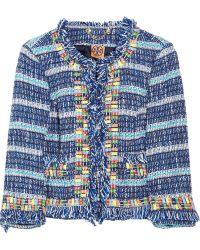 Tory Burch | Marion Tweed Jacket | Lyst