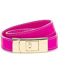 CC SKYE - Cc Skye Portico Bracelet Neon Pink - Lyst