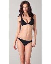 Seventh Wonderland - Serafina Lace Up Tri Bikini - Lyst