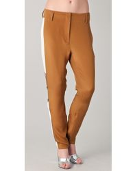 3.1 Phillip Lim Side Panel Trousers with Zippers - Lyst