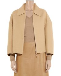 Calvin Klein - Wool and Cashmere-blend Felt Coat - Lyst