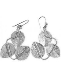 Chic Jewel Couture Maria Earrings Silver - Lyst