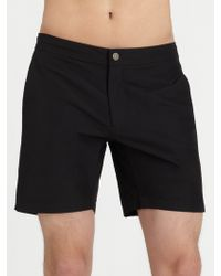 Onia Tailored Swim Shorts - Lyst