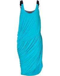 Rag & Bone Bluebired Draped Olivia Dress - Lyst