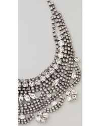 Tom Binns - Madame Dumont Short Bib Necklace - Lyst