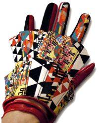 World Of Christina Worlds Collide Super Y Glove multicolor - Lyst