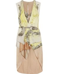 Julien Macdonald Koi Beadembellished Silkhabotai Dress - Lyst