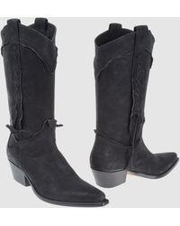 Sartore Highheeled Boots - Lyst