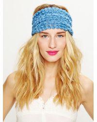 Free People Tatty Floral Gauze Headwrap - Lyst