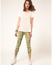 ASOS Collection Asos Leggings in Smudge Print - Lyst