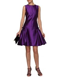 Prabal Gurung Drop Waist Dress - Lyst