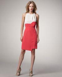 Sachin & Babi Simmon Faux Wrap Dress - Lyst