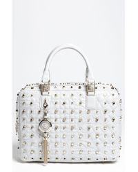 Versace Vanitas Satchel - Lyst