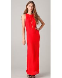 Kelly Bergin - Bias Seamed Gown - Lyst