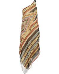 Ralph Lauren Blue Label - Waysayer Silk Georgette Dress - Lyst