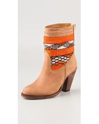 Cobra Society Canon Boots brown - Lyst