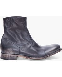 NDC - Black Washed Christophe Boots - Lyst