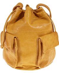 Ally Capellino - Yellow Bebba Drawstring Bucket Bag - Lyst