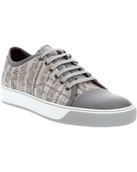 Lanvin Leather Trainer - Lyst