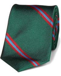 J.Crew | Slim Blake Striped Silk Tie | Lyst