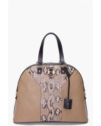 Saint Laurent Python Muse Bag - Lyst