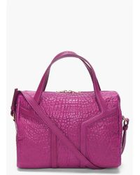 Saint Laurent Amethyst New Y Duffle Bag - Lyst