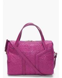Saint Laurent Amethyst New Y Duffle Bag purple - Lyst