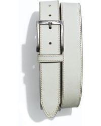 1901 Nubuck Leather Belt - Lyst