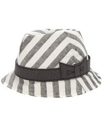Lika - Wood Travel Hat - Lyst