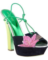 Sergio Rossi Neo Pin Up Sandal - Lyst