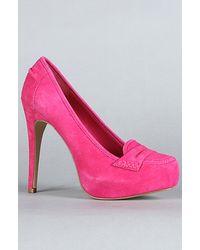 DV by Dolce Vita The Bridgette Shoe in Pink Suede - Lyst