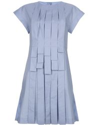 Fendi Pleated Dress - Lyst