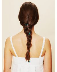 Free People Floral Chain Hair Clip - Lyst