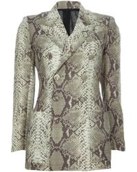 Jean Paul Gaultier Print Suit - Lyst