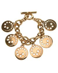 Paco Rabanne - Charms Bracelet - Lyst