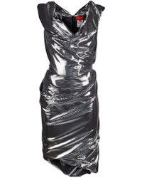 Vivienne Westwood Red Label Off Shoulder Dress - Lyst
