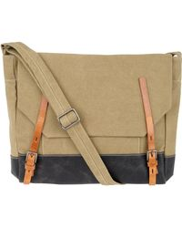 Ally Capellino -  Danny Coated Canvas Satchel - Lyst