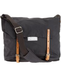 Ally Capellino -  Jeremy Waxed Cotton Messenger Bag - Lyst