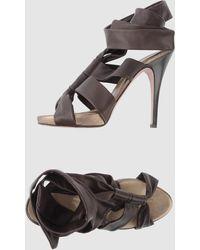 Di Foffo Platform Sandals - Lyst