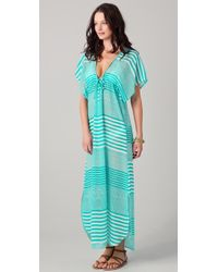 Josa Tulum - Rustic Long Cover Up Dress - Lyst