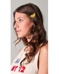 Marc By Marc Jacobs - Fruit Slice Hair Clip - Lyst