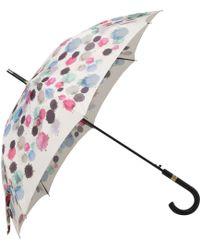 Boutique Moschino - Watercolours Automatic Walker Umbrella - Lyst
