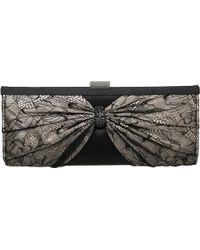 Dune B Lacey Diamante Lace Clutch Bag - Lyst