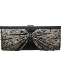 Dune B Lacey Diamante Lace Clutch Bag black - Lyst
