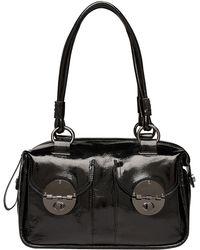 Mimco - Mini Turnlock Zip Top Bag - Lyst