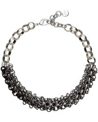 Mimco - Celestial Chain Choker Necklace - Lyst