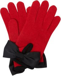 Boutique Moschino - Bow Detail Glove - Lyst